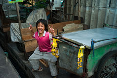 Klongtoey Slum Royalty Free Stock Image
