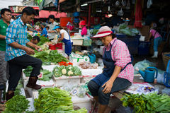 Klongtoey Wet Market Royalty Free Stock Image