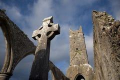 Klooster 2 van Claregalway royalty-vrije stock foto's