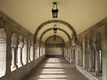 Klooster stock afbeelding