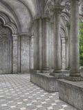 Klooster stock illustratie