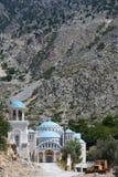 Klooster Agios Nikolaos stock fotografie