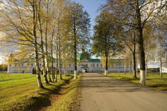 Klooster Alexander-Svirsky stock fotografie
