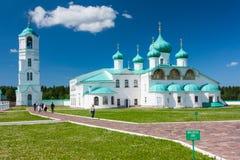 Klooster Alexander-Svirsky Royalty-vrije Stock Foto's