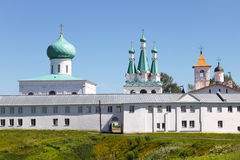 Klooster Alexander-Svirsky in Rusland Royalty-vrije Stock Fotografie