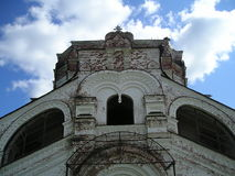 Klooster artemievo-Vercolsky Orthodox overblijfsel royalty-vrije stock fotografie