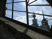 Klooster artemievo-Vercolsky Orthodox overblijfsel royalty-vrije stock afbeeldingen