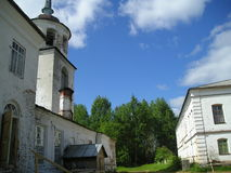 Klooster artemievo-Vercolsky Orthodox overblijfsel Royalty-vrije Stock Foto's