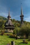 Klooster in Barsana royalty-vrije stock foto's