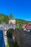 Klooster Bebenhausen stock afbeeldingen