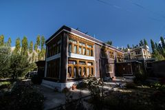 Klooster | Boeddhisme stock afbeeldingen
