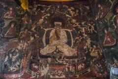 Klooster | Boeddhisme royalty-vrije stock afbeelding