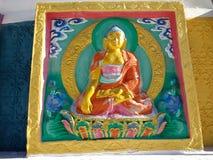 Klooster | Boeddhisme royalty-vrije stock afbeeldingen