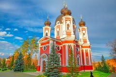 Klooster Churchi van Moldavië stock foto