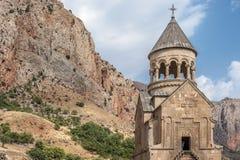 Klooster complexe Noravank, de Kerk van de Vergine Santa Surb Royalty-vrije Stock Afbeelding