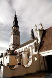 Klooster in CzÄstochowa stock afbeeldingen
