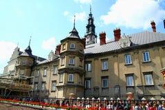 Klooster in Czestochowa Royalty-vrije Stock Afbeeldingen