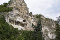 Klooster in de berg stock foto's