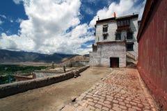 Klooster dichtbij stad van Leh royalty-vrije stock foto's