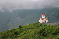Klooster in Georgië Stock Afbeelding