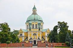 Klooster in Gostyn Stock Afbeeldingen