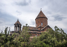 Klooster Khor Virap, Kerk van Heilig Virgin Stock Afbeelding