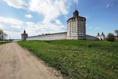 Klooster kirillo-Belozersky Stock Afbeelding