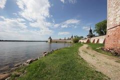 Klooster kirillo-Belozersky Stock Foto's