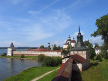 Klooster kirilo-Belozersky. Royalty-vrije Stock Afbeeldingen