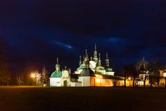 Klooster Klokoty, Tabor, Tsjechische republiek stock foto's