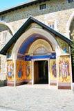 Klooster Kykkos in Cyprus stock afbeelding