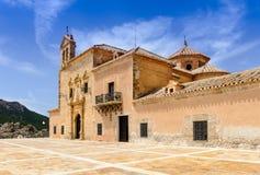 Klooster Maagdelijk Del Saliente Stock Afbeeldingen
