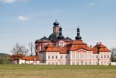 Klooster Marianska Tynice stock foto