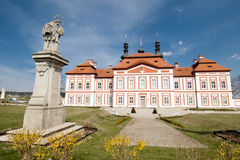 Klooster Marianska Tynice royalty-vrije stock afbeelding