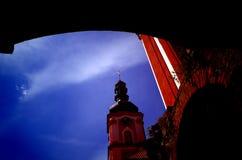 Klooster Marianska Tynice, Tsjechische Republiek stock foto
