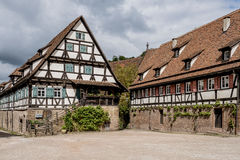 Klooster in Maulbronn in 03 Juni 2014 Stock Afbeelding