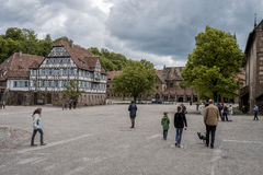 Klooster in Maulbronn in 03 Juni 2014 Royalty-vrije Stock Afbeelding