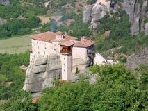Klooster in Metéora Stock Foto