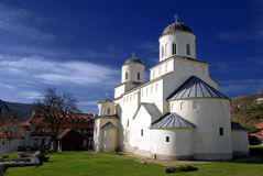 Klooster Mileseva stock fotografie