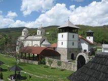 Klooster Mileseva Het Mileseva-Klooster Oude christen, royalty-vrije stock fotografie