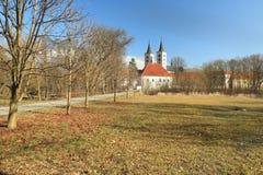 Klooster in Milevsko Royalty-vrije Stock Fotografie