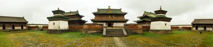 Klooster in Mongolië royalty-vrije stock fotografie
