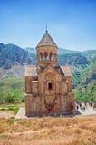 Klooster Noravank, de stad van Yeghegnadzor, Armenië Royalty-vrije Stock Afbeelding