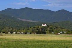 Klooster in nord Griekenland. Stock Foto