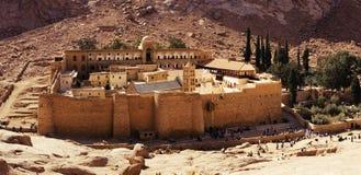 Klooster op Egypte Stock Fotografie