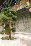 Klooster op Lantau-Eiland royalty-vrije stock foto