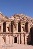 Klooster-Petra stock afbeeldingen