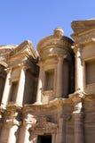 Klooster in Petra royalty-vrije stock foto