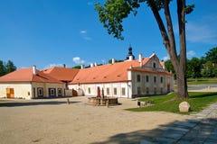 Klooster Plasy stock foto