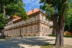 Klooster Plasy royalty-vrije stock afbeeldingen